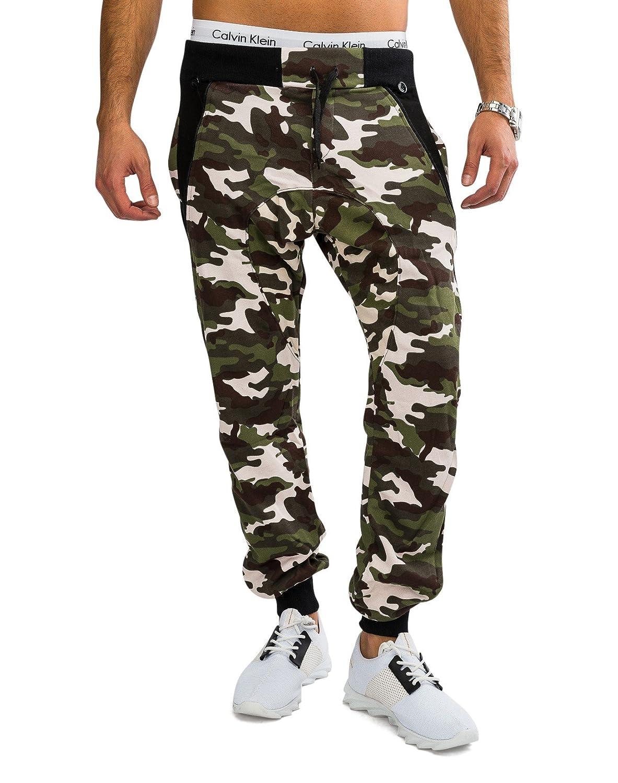 ArizonaShopping Hosen Herren Camouflage Jogginghose mit