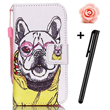 iphone 6s dog flip case