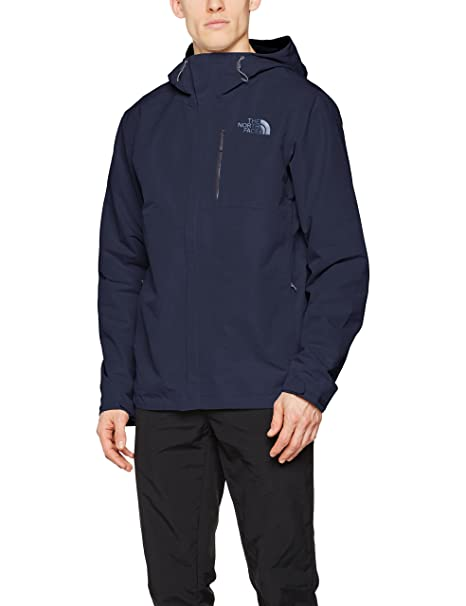 Amazon.com: The North Face Mens Dryzzle Jacket Urban Navy M ...