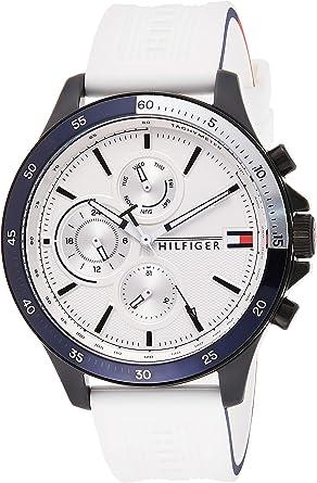 Tommy Hilfiger Reloj para de Cuarzo con Correa en Silicona 1791723