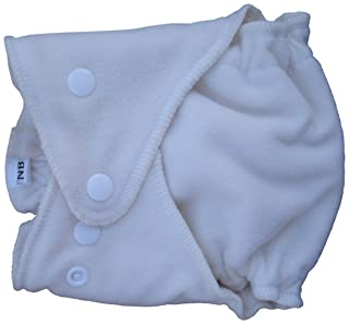 Little Bear Bums Micro-Fleece Diaper Cover, Large, Ivory SZ/LG/COVER