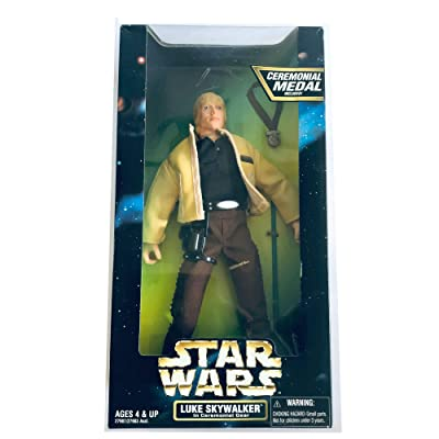 "Kenner Star Wars Action Collection 12"" Luke Skywalker Figure in Ceremonial Gear: Toys & Games"