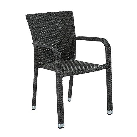 Wholes Horizontal GmbH apilable del reposabrazos silla de la ...