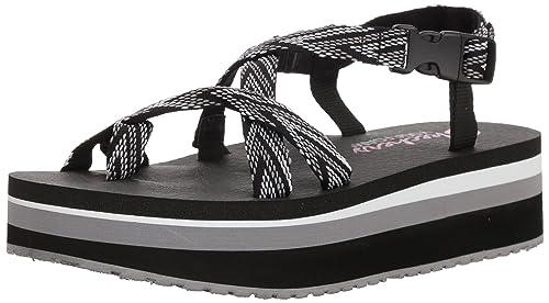 Skechers Frauen Platform Sandalen: : Schuhe Baigd