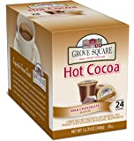 Grove Square Hot Cocoa, Milk Chocolate,12.70 oz, 24 Single Serve Cups