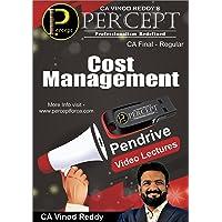 CA Final Cost Management (Costing) Regular Pendrive by CA Vinod Reddy
