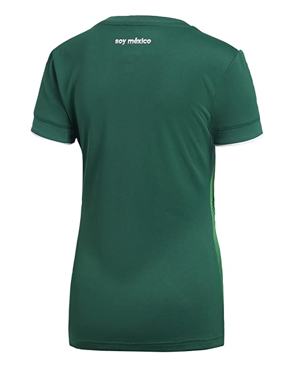 2c0b7d02b79 Amazon.com: adidas Women's Soccer Mexico Home Jersey: Clothing