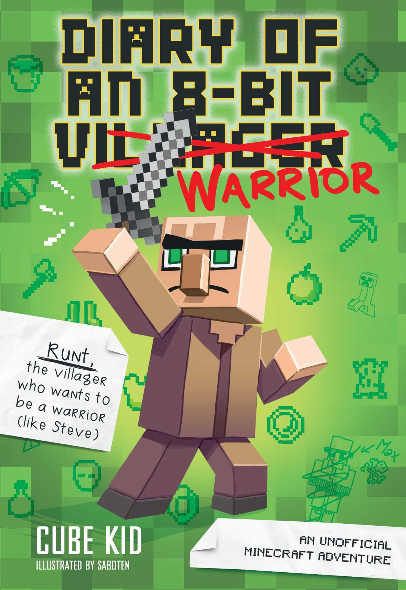 Diary 8 Bit Warrior Book Unofficial product image