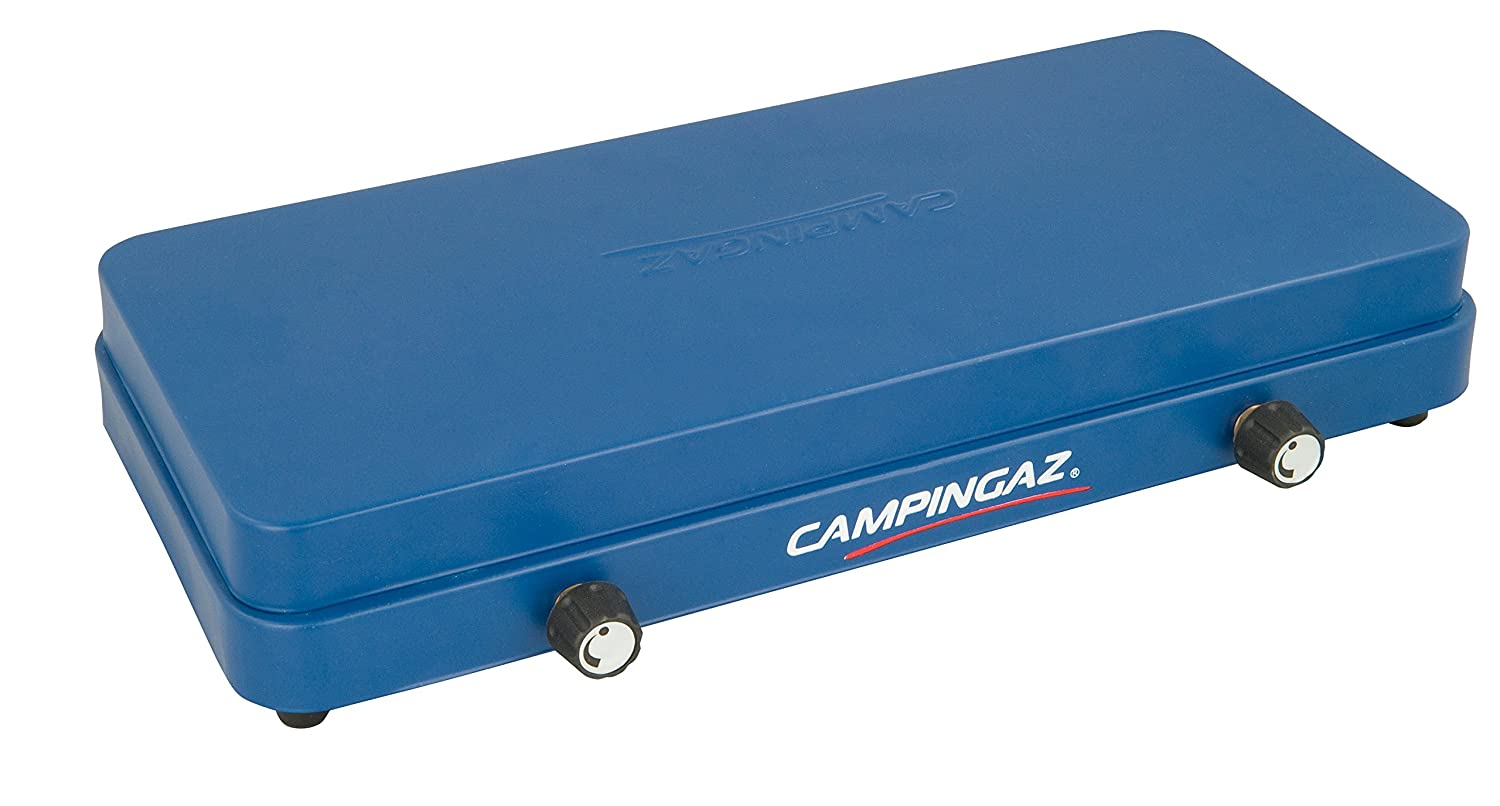 Campingaz Base Camp 2000010109 Gas Stove with Lid, Blue (43 x 24 x 8 ...