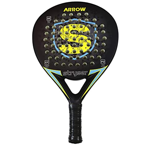Stryser Pala de Padel para Hombre con Funda y Overgrip Empuñadura Comfort