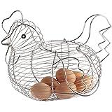 Kitchen Craft - Huevera en forma de gallina (30 x 25 cm)