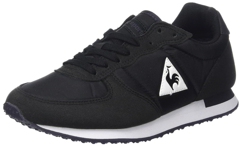 Le COQ Sportif Onyx Nylon, Zapatillas Unisex Adulto 43 EU|Negro (Black Noir)