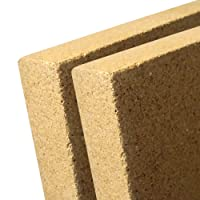 indoba® IND-70712-VE252-2 - Vermiculite Platte - Schamotte Ersatz für Kaminöfen - Stärke: 25 mm - Maße: 375 x 500 mm - 2 Stück
