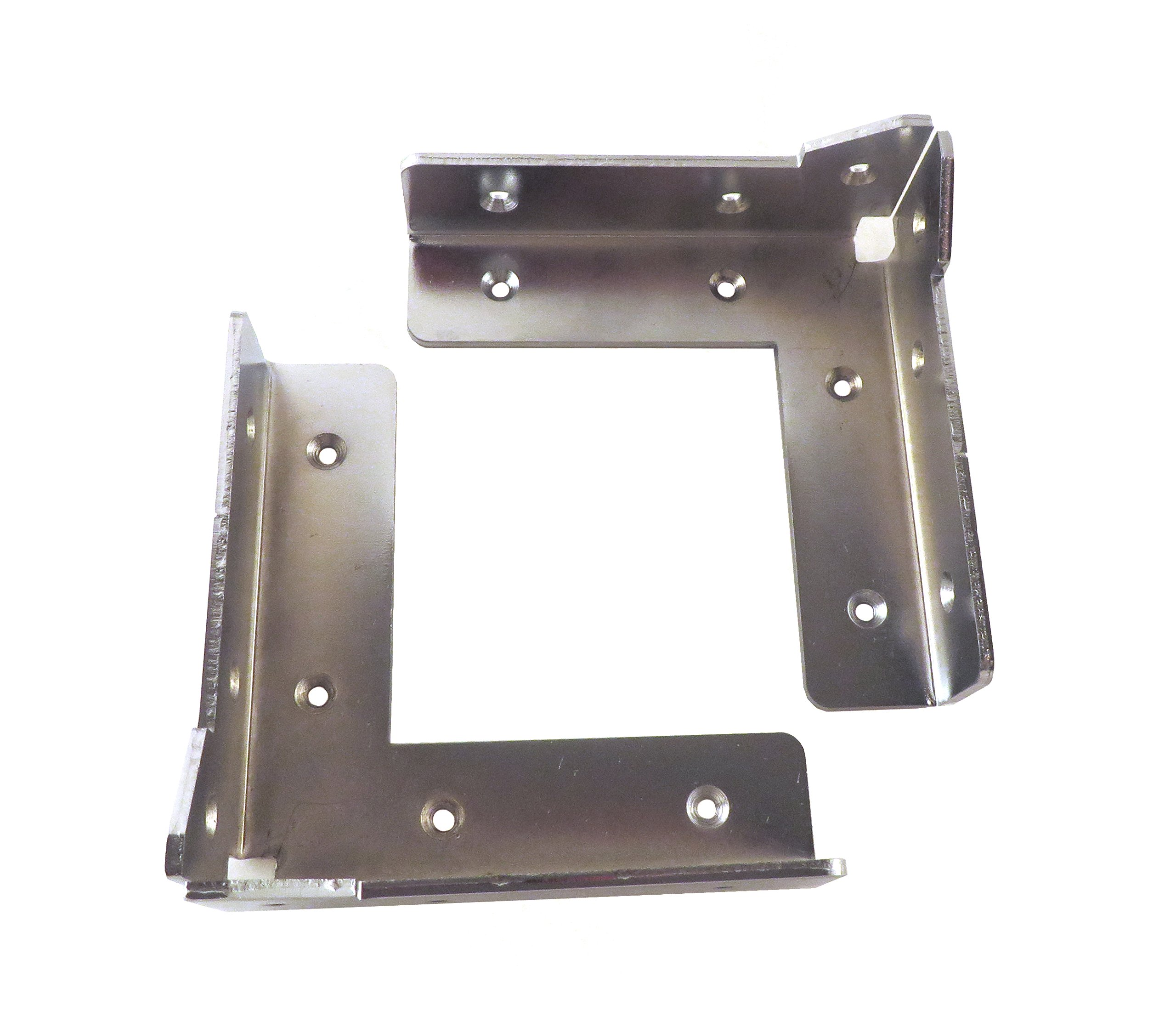 Set of 4 Clamping Assembly 3D Squares-AS-X2