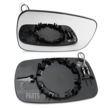 Underground Parts Replacement Door Wing Mirror Glass Heated Right