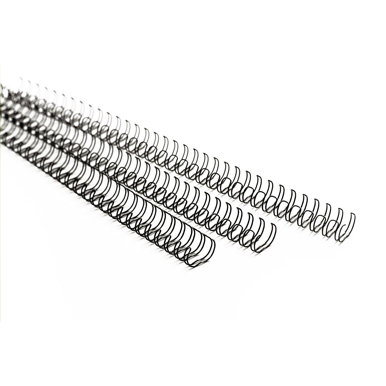 GBC RG810470 Wirebind Spirali Metalliche, A4, 6 mm, Bianco, 100 Pezzi ACCO Brands 41466X