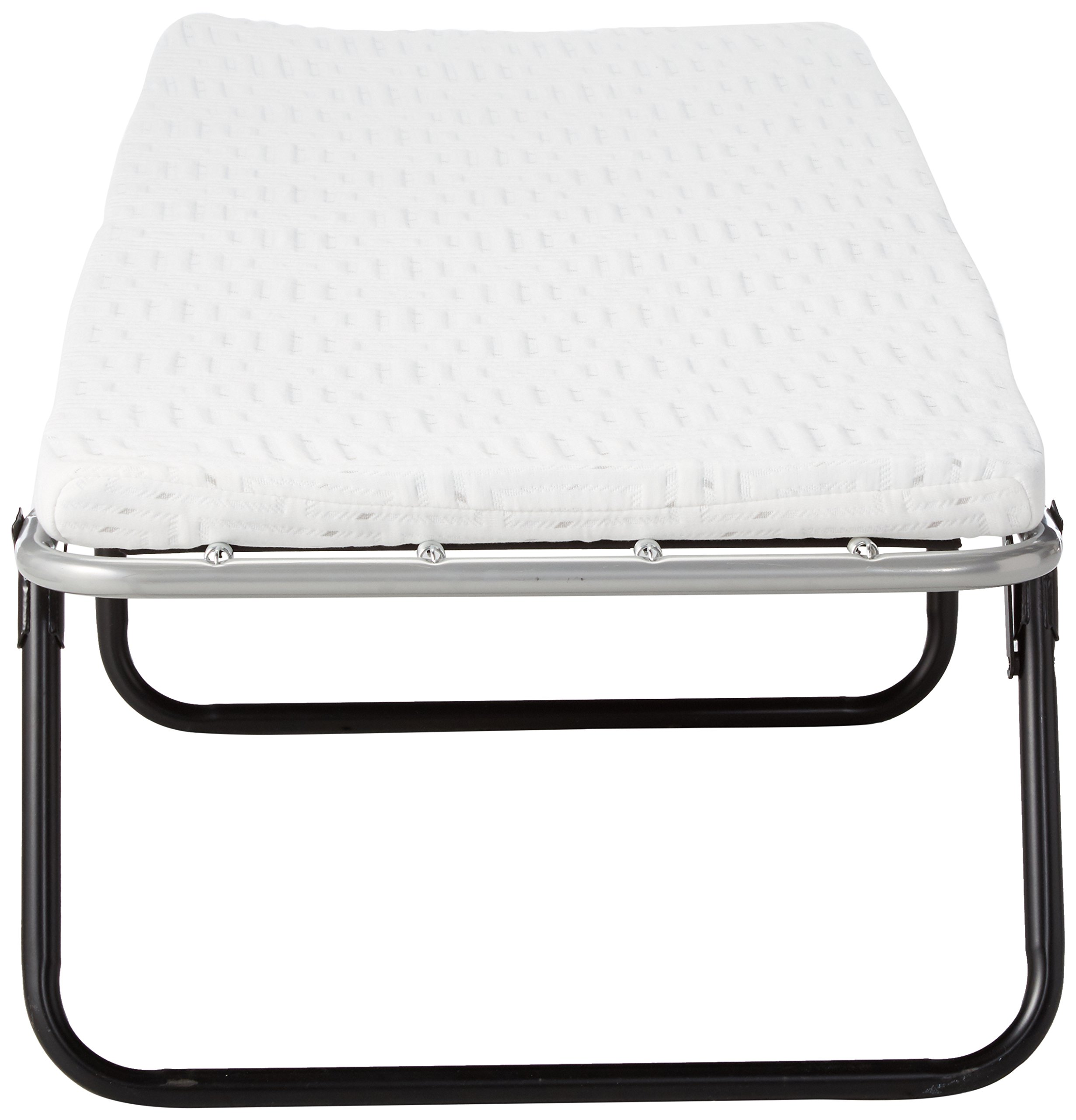 Broyhill Foldaway Guest Bed: Folding Steel Frame with Gel Memory Foam Mattress, 2'' Single by Broyhill