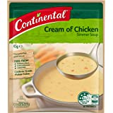 Continental Simmer Soup Cream Of Chicken 45G