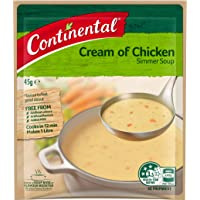 Continental Simmer Soup Cream Of Chicken, 16 x 45g
