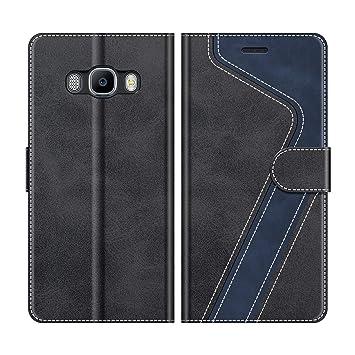 MOBESV Funda para Samsung Galaxy J5 2016, Funda Libro Samsung J5 2016, Funda Móvil Samsung Galaxy J5 2016 Magnético Carcasa para Samsung Galaxy J5 ...