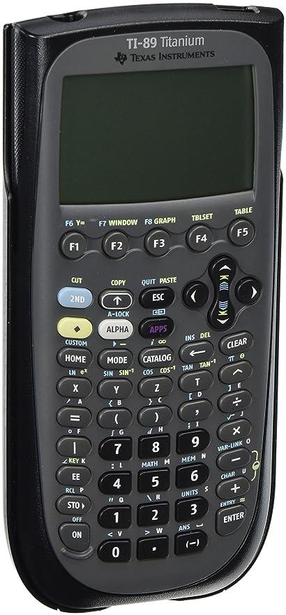 Højmoderne Amazon.com : TEXTI89TITANIUM - Texas Instruments TI-89 Titanium MO-88