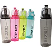 Water Bottle with Mist Spray Function - Hydration Mister, Refreshing Sports Fitness Drinking Bottle Leak-Proof 600 ml in 4 Colors…