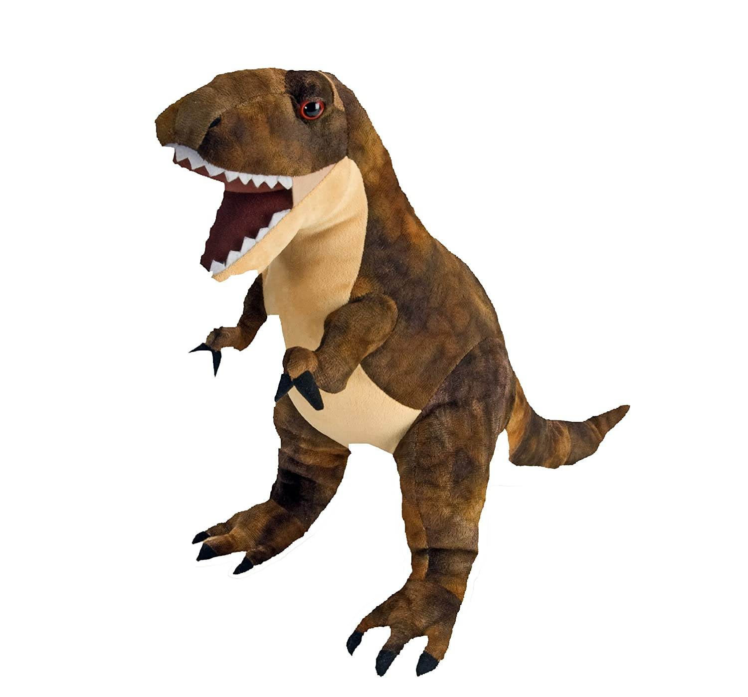 Amazon.com: Wild Republic T-Rex Plush, Dinosaur Stuffed Animal, Plush Toy, Gifts For Kids, Dinosauria 10 Inches: Toys & Games
