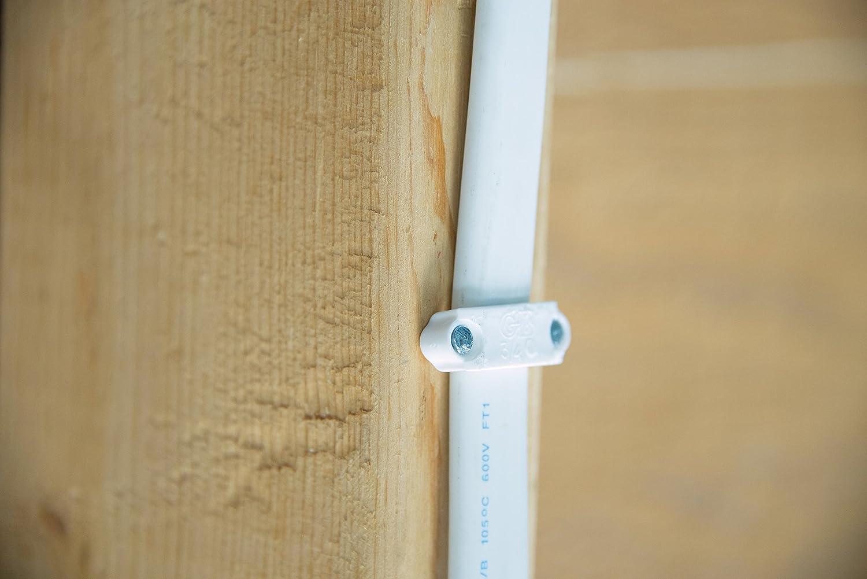 Gardner Bender PS-175 Plastic Staple Cable 3//4 in. White Actuant 12//3 14//3 NM 10//3