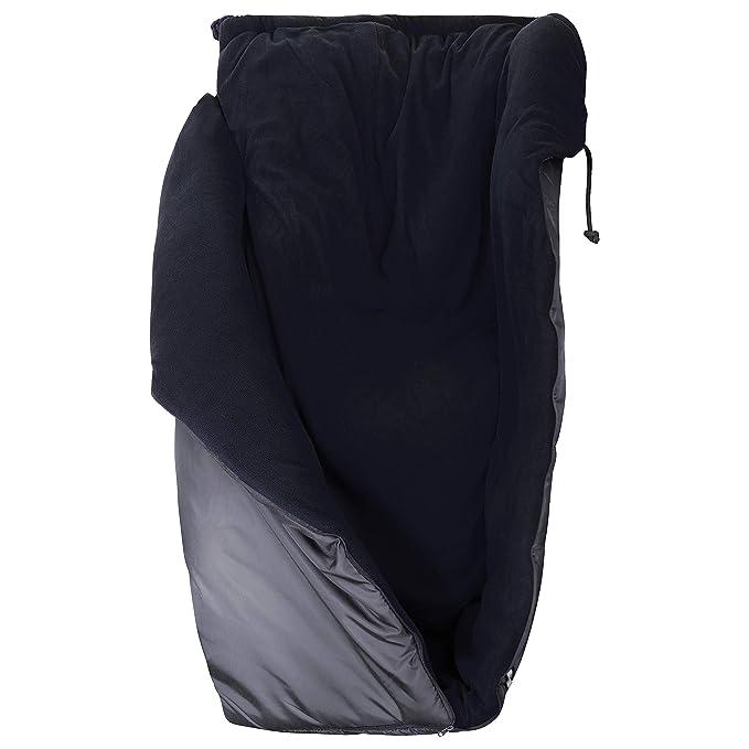 Kaiser Naturfellprodukte 999016 - Saco para silla de ruedas (forro polar), color gris: Amazon.es: Salud y cuidado personal