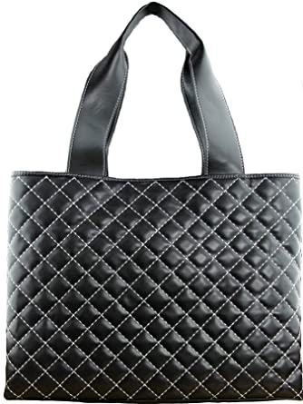 Love Moschino Black Quilted Tote Bag Amazon Clothing