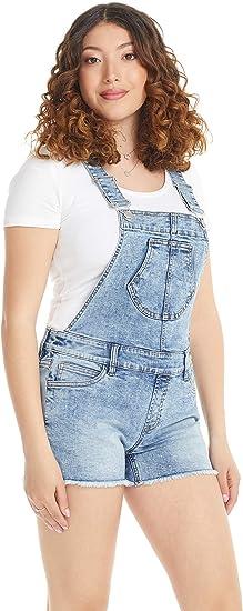 Suko Jeans Women/'s Stretch Denim Cutoff Shorts