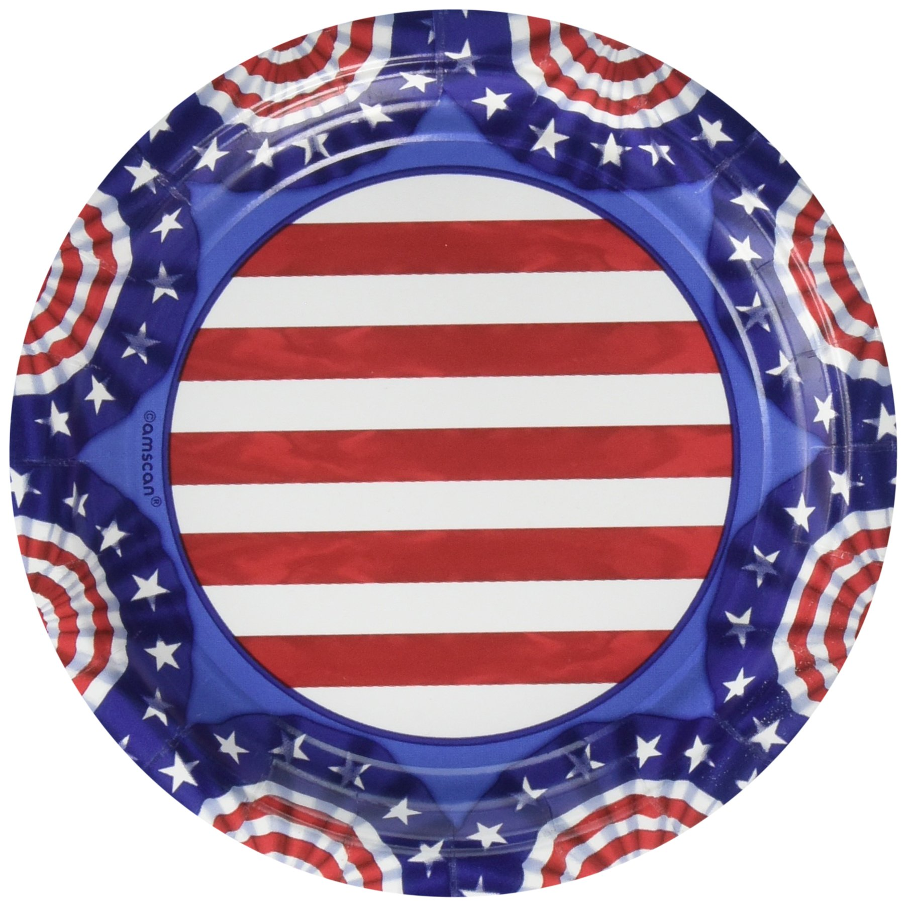 American Pride Party Plates, 7'', 360 Ct.