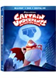 Captain Underpants: The First Epic Movie (Blu-ray + DVD + DigitalHD)