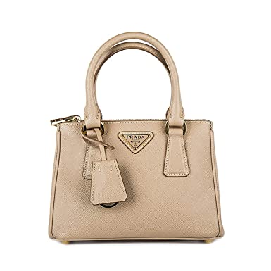 286269715b1a15 ... coupon code for prada saffiano lux double zip bandoliera mini beige  cammeo purse 1bh907 f0770 50dc3
