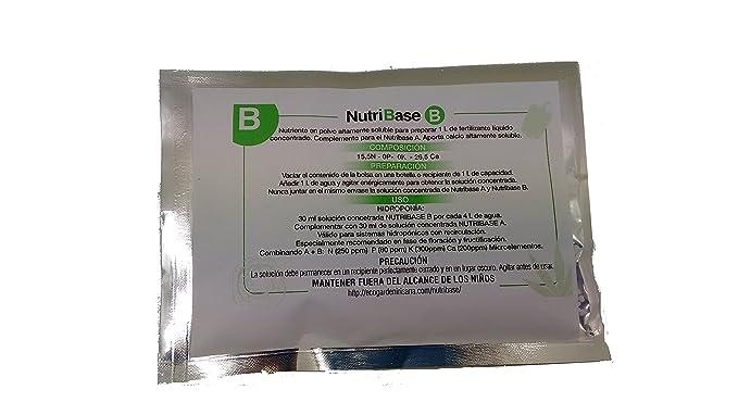 Irisana 72.EG05AB Fertilizante en polvo altamente soluble para hidroponía: Amazon.es: Jardín