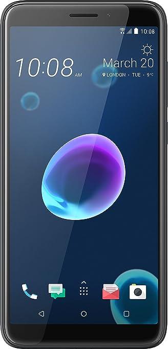 Htc Design   Htc Desire 12 Smartphone 5 5 Zoll Cool Black Amazon De Elektronik