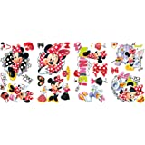 RoomMates Children's Repositonable Disney Wall Stickers, Minnie Mouse Loves to Shop