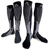 Womens & Mens Compression Socks Men 20-30 mmhg best for flight pregnancy nurse varicose veins stamina flying