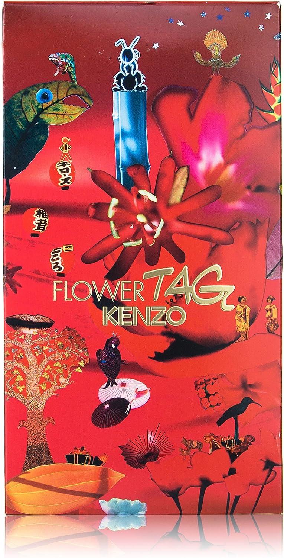 Kenzo Flower Tag Gift Set 30ml Eau De Toilette + 50ml Body Milk: Amazon.es: Salud y cuidado personal