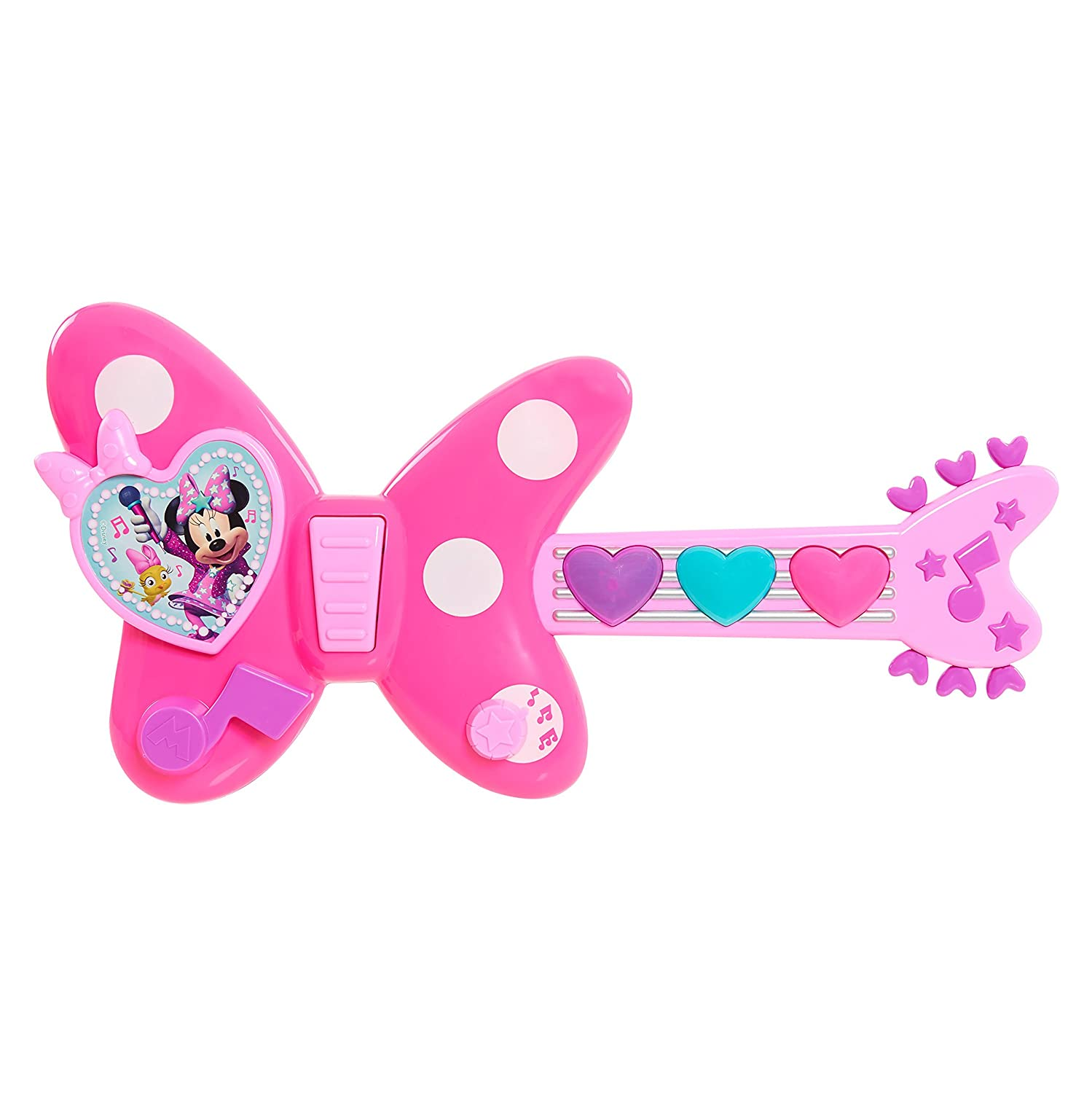 197a4dd368 Buy MINNIE Just Play Happy Helpers Rockin' Guitar, Pink Online at Low  Prices in India - Amazon.in