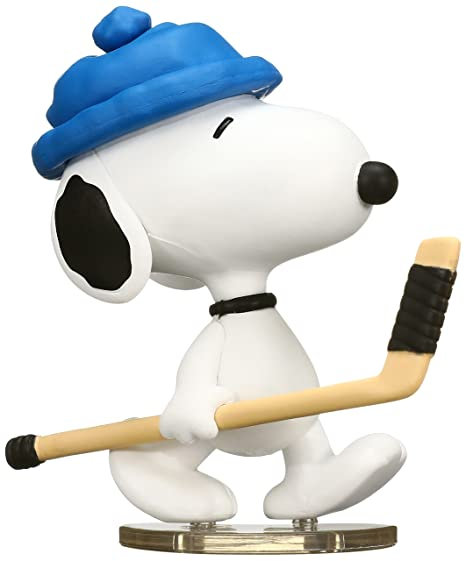 da6af075d3 Image Unavailable. Image not available for. Color  Medicom Peanuts Series 6   Hockey Player Snoopy UDF Action Figure