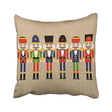 Amazon.com: emvency fundas de almohada Navidad diciembre ...