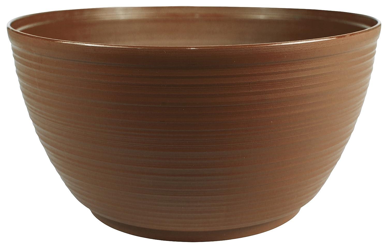 Bloem Dura Cotta Plant Bowl, 12 , Chocolate PB12-45