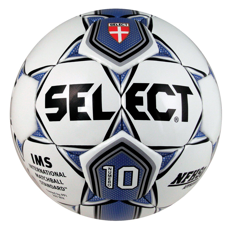 Seleccione Deporte América Numero 10 Pelota de fútbol, Color White ...
