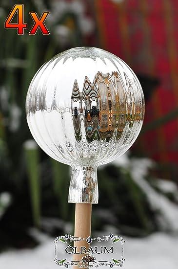 4 X Gartenkugel Ca 25 Cm Gross Form Kugel Klassische Kugelform