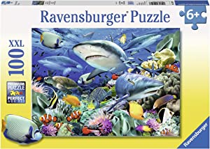 Ravensburger Shark Reef Jigsaw Puzzle (100 Piece)