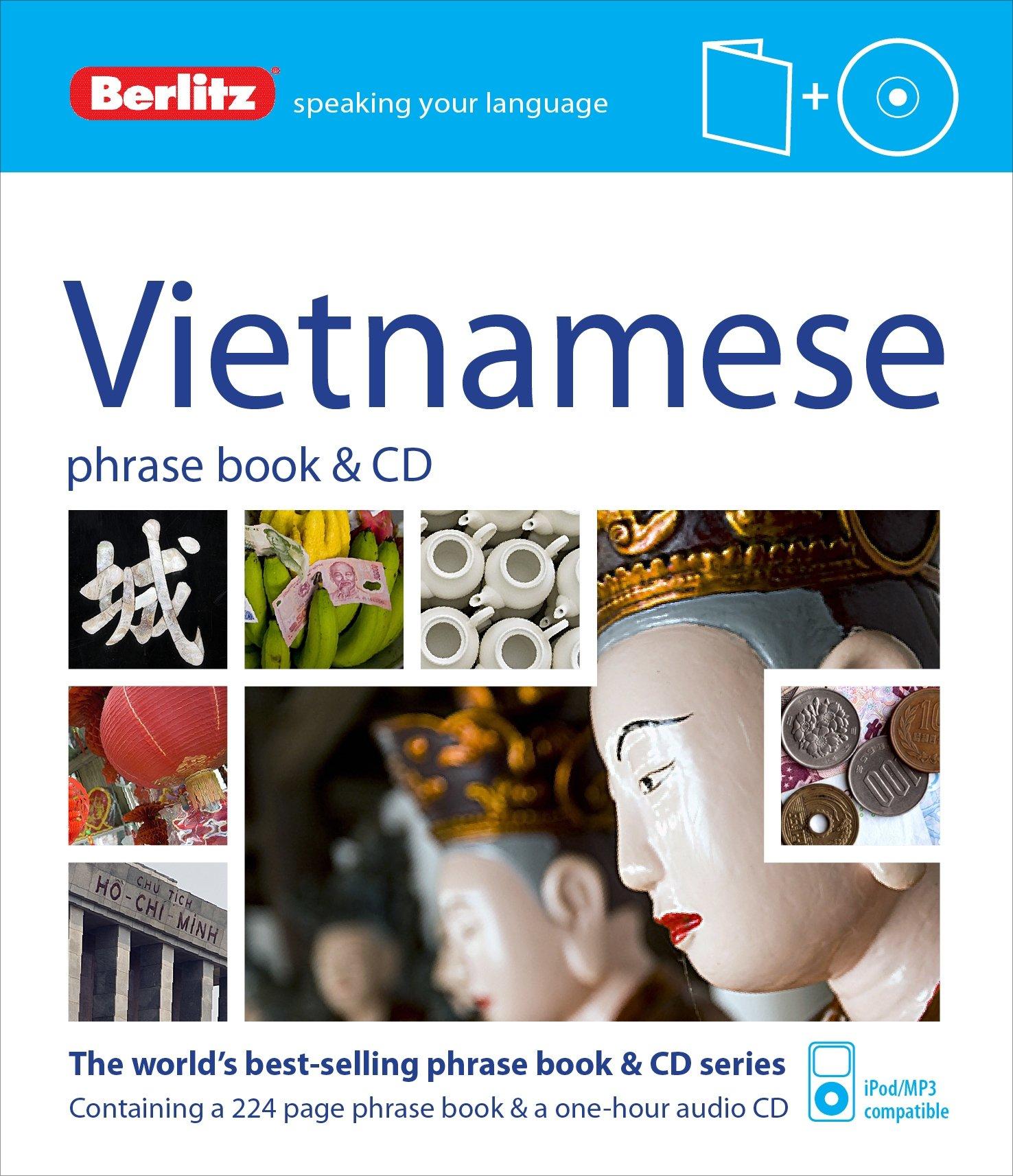 Berlitz Language  Vietnamese Phrase Book And CD  Berlitz Phrase Book And CD