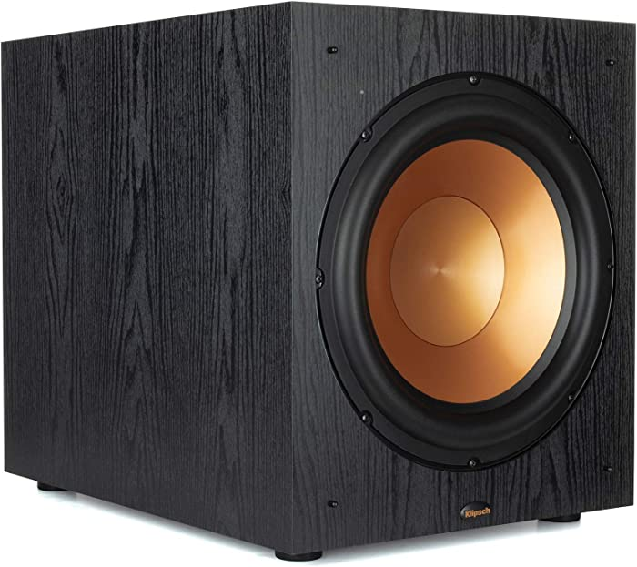 Klipsch Synergy Black Label Sub-120 Subwoofer with Spun Copper Front-Firing Cerametallic Woofers and a 12-inch, Front-Firing Driver