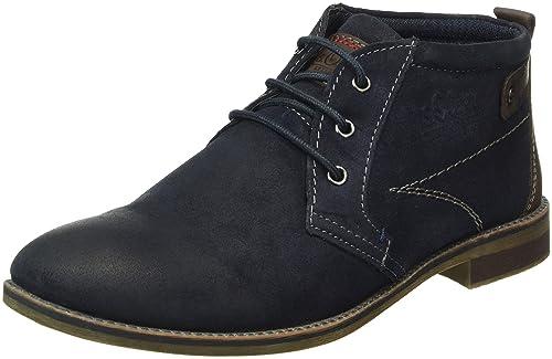 s.Oliver - Zapatos de cordones para hombre, color azul, talla 42 EU