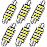 42MM 578 LED Festoon Bulbs, Extremely Bright 15smd 2835 Chipset 212-2 Led Car Bulbs, DE3425 DE3423 Replacement Bulbs for…